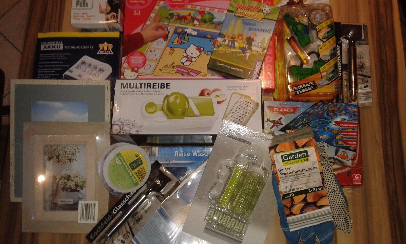Restposten Paket Spielwaren Haushaltswaren Deko