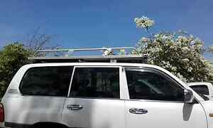 Roof rack with slide out solar panel Stuart Park Darwin City Preview