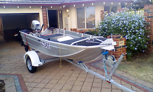 12ft dinghy 15hp honda Innaloo Stirling Area Preview