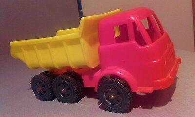 Aurora Illinois (ORIG. AURORA USA ILLINOIS 50er Kunststoff Spielzeug Kipper LKW Plastic Vintage)