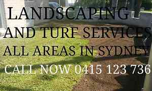 LANDSCAPING/TURFIN/GARDENING ALL AREAS IN SYDNEY Leppington Camden Area Preview