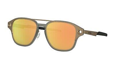 Oakley® Coldfuse™ Men's TITANIUM Sunglasses OO6042-0552, PRIZM™Rose Gold (Titanium Sunglasses Men)