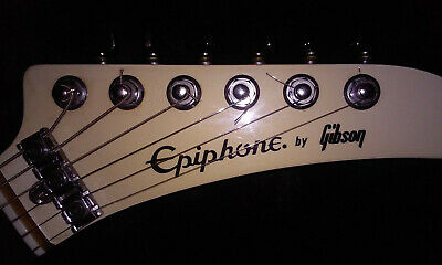 ORIGINAL RARE 1984 EXPLORER EPIPHONE GUITAR MADE BY GIBSON WITH SKB  CUSTOM CASE