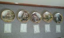 5 Franklin Mint  Cottage Plates Mitchell Park Marion Area Preview