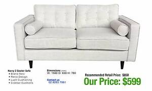 HARRY TWO SEATER SOFA W/ LUSH CUSHIONING Ultimo Inner Sydney Preview