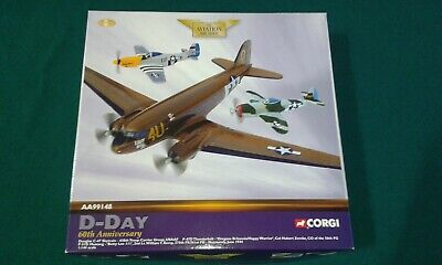 Corgi Aviation Archive Collector Series AA99148 Diecast Model USAAF, D-Day
