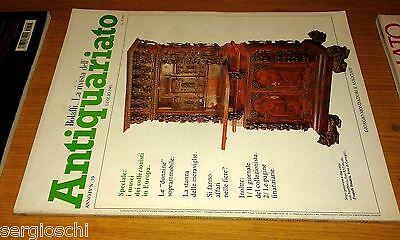 RIVISTA ANTIQUARIATO #  19-1981-DONNINE SOPRAMMOBILE-MUSEI COLLEZIONISTI EUROPA