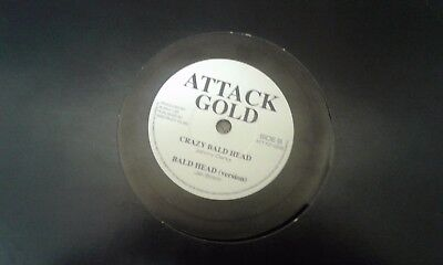 "Johnny Clarke , Bad Days , Crazy Bald Head , 10"" Attack Gold."