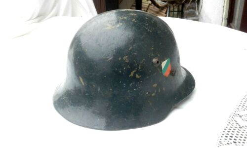 WW2 Bulgarian WWII German Type Army Helmet with Liner