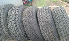 set of 5 4x4 tyres Wulagi Darwin City Preview