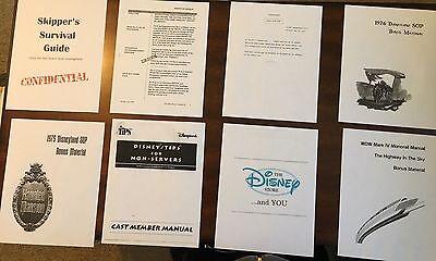 8 Disney Cast Member Training Guides ,