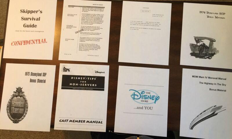 8 Disney Cast Member Training Guides