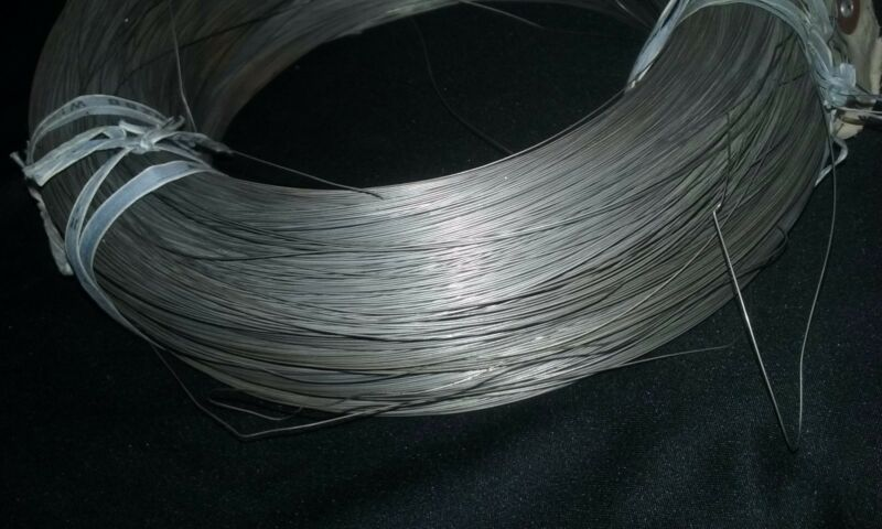 INVAR  36 WIRE, 0.016 DIAMETER IN COIL.  11.5LBS  APPX 2800 METERS LONG
