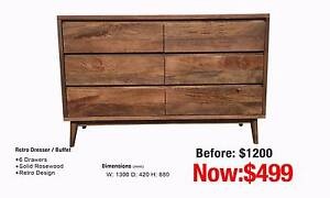 RETRO BUFFET / DRESSER Leumeah Campbelltown Area Preview