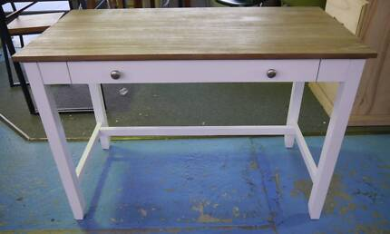 New White Timber French Provincial Brittany Student Study Desks
