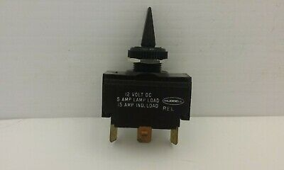 Hubbell M123sp Spdt 12v Marine Boat Toggle Switch Onoffon 12v Nnb