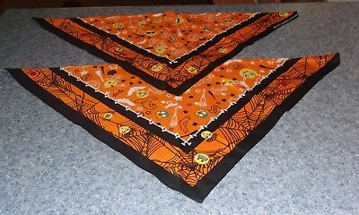 Two Witches Halloween (Two Brand New Halloween Witch Emoji Design Dog Bandanas For Dog Rescue)