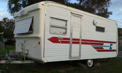 VISCOUNT CHESNEY 1974 CARAVAN BUNKS AND THREE WAY POWER RESTORED San Remo Bass Coast Preview