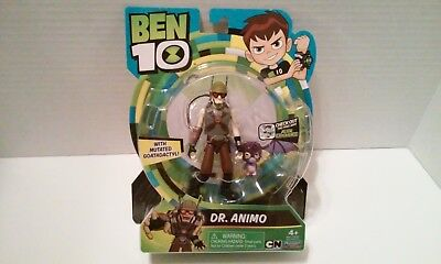 BEN 10 DR. ANIMO with GOATADACTYL Action Figure Playmates Cartoon Network 2017