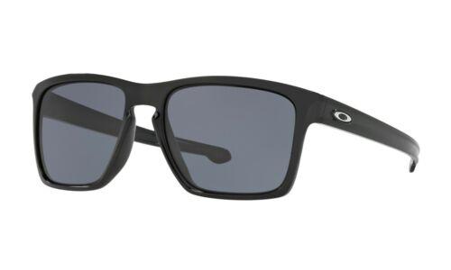 Oakley Sliver XL Sunglasses OO9346-01 Polished Black W/ Grey Lens ASIA FIT