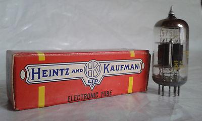 Heintz and Kaufmann JAN 5751 ECC83 12AX7 E83CC Röhre Tube NOS Telefunken USA GE d'occasion  Expédié en Belgium