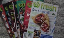 WOOLWORTHS FREE FRESH MAGS Macquarie Fields Campbelltown Area Preview