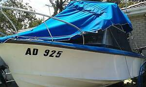 16ft half-cabin boat urgent sale for cheap price Noble Park Greater Dandenong Preview