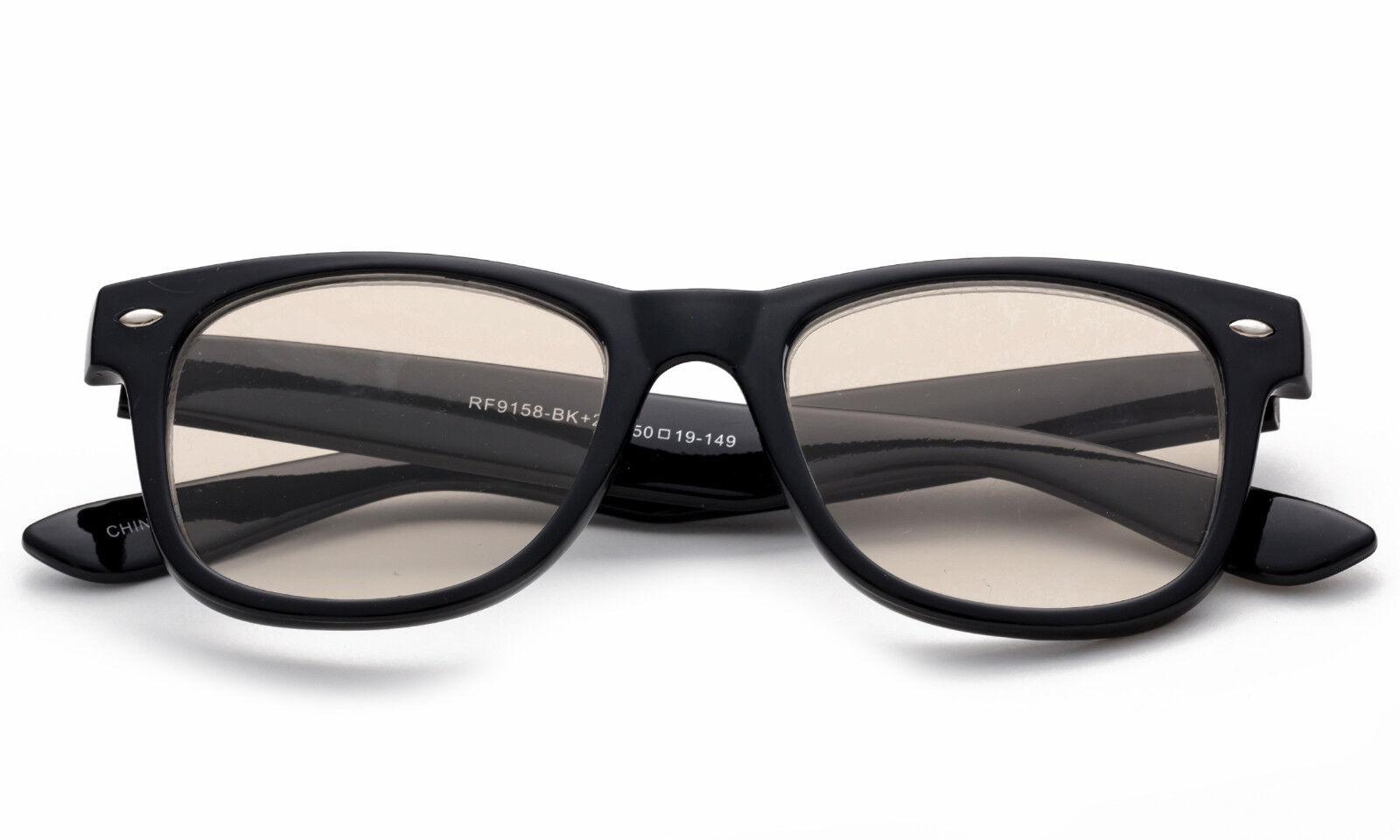 fd0f6ad5ff Blue Light Blocking Anti Glare Glasses Computer Reading Strain Relief Clear  Lens