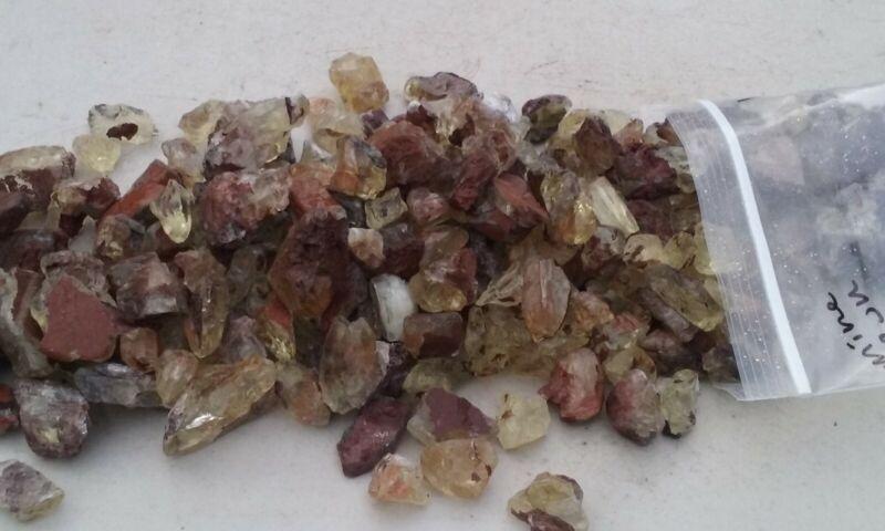 Oregon Sunstone mine run rough from Sunstone Butte 1 kilo