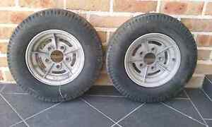 Boat trailer wheels Primbee Wollongong Area Preview