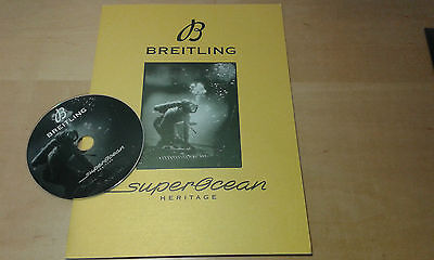 Used - Dossier Of Press Breitling Superocean Heritage. Item For Collectors