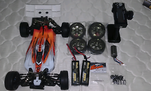 Rc serpent cobra gte brushless buggy Strathfield Strathfield Area Preview