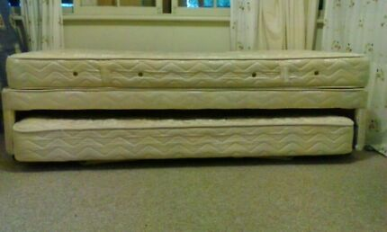 AH Beard King Single Bed plus Full Size Trundle makes a KING BED Marrickville Marrickville Area Preview