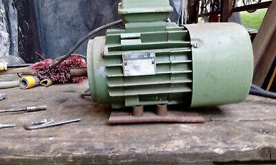 Energiesparmotor IE1 Elektromotor,Drehstrommotor 1500 U//min 71B B14K 0,37kW