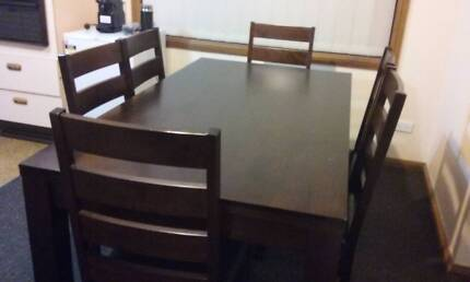 6-Seater Dining Table - Ready to sell ASAP Blairmount Campbelltown Area Preview