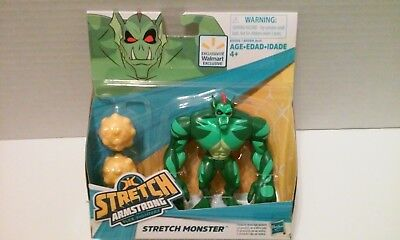 STRETCH ARMSTRONG and the Flex Fighters STRETCH MONSTER Figure Hasbro 2018 NEW