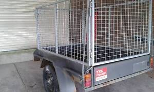 Trailer Caged 6x4 Trik Trailer Rowville Knox Area Preview
