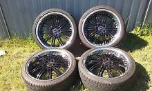 Holden Commodore ve 20 inch raptor deepdish wheels /tyres Matraville Eastern Suburbs Preview