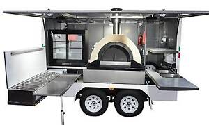 Custom built wood fired pizza trailer for catering business Dandenong North Greater Dandenong Preview