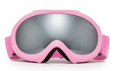 Girl Kids Ski SnowBoard Pink Goggles Youth Dual Mirror Lens Anti Fogging UV 100% Pink Kids Goggles