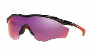 38b437da9c Oakley M2 Frame XL Sunglasses 2015 Oo9343-08 Polished Black Prizm Road