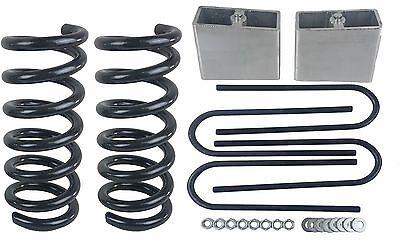 "3/4 Drop Kit S10 2wd V6 3"" Front Springs 4"" Rear Aluminum Blocks Ubolts , usado comprar usado  Enviando para Brazil"