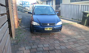 Holden astra 2001 Belmont North Lake Macquarie Area Preview