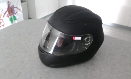 Kbc full face helmet good condition