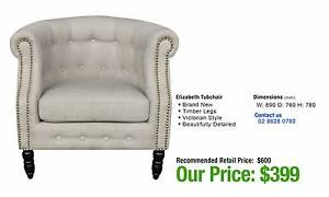 ARMCHAIRS - up to 80% OFF RRP Granville Parramatta Area Preview