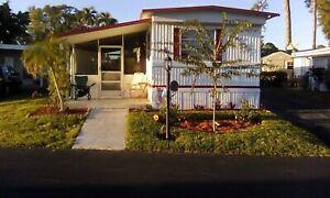 Maison mobile à louer en Floride