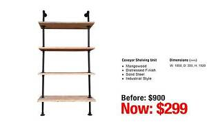COVEYOR SHELVING UNIT MANGOWOOD Leumeah Campbelltown Area Preview