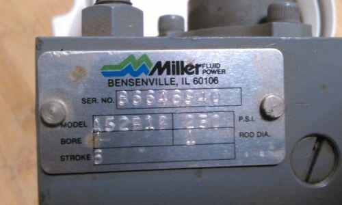 """MILLER A52B1B 4""""X6"""" PNEUMATIC CYLINDER"""