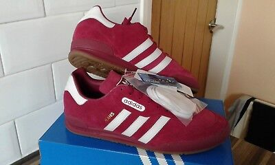 Adidas Jeans Super Mystery Ruby White Trainers UK Size 9.5 visit bern dublin gtx for sale  Shipping to Ireland