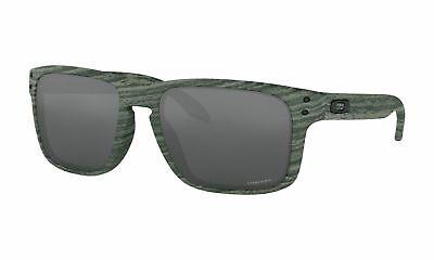 Oakley Holbrook Sonnenbrille Ivywood Rahmen Prisma Grau Schwarz Linse